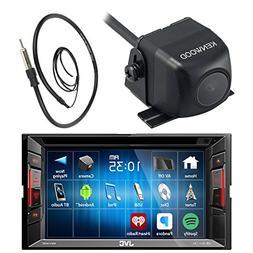 "JVC  6.2"" Touch Screen Car CD DVD USB Bluetooth Stereo Recei"