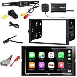 JVC 6.8 Inch LCD Touchscreen 2DIN Bluetooth DVD/CD/AM/FM Car