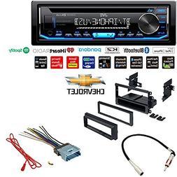 JVC KD-RD79BT 1-Din Car CD Receiver Stereo w/Bluetooth/USB/A