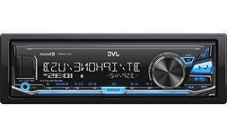 JVC KD-X240BT Single DIN in-Dash Digital Media Car Stereo wi