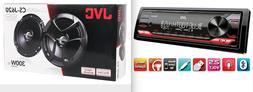 JVC KD-RD99BTS Single DIN BT Stereo W// Enrock 2-WAY Coaxial SPKR /& Enrock SPKR W