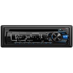 KENWOOD KDC-BT318U SINGLE-DIN CD MP3 BLUETOOTH PANDORA IHEAR