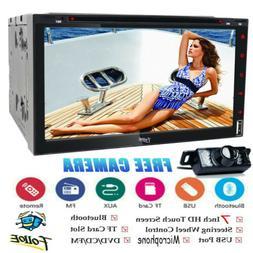 "6.2""Double 2Din Car inDash Stereo Radio DVD Player MP3 CD AU"