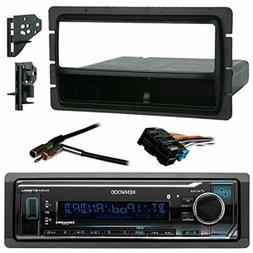 Kenwood Bluetooth Radio + Harness,Metra Install Kit , Antenn