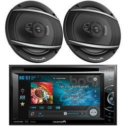 "Pioneer Double DIN DVD USB CD Radio 7"", 2 Pioneer 6.5"" Car S"