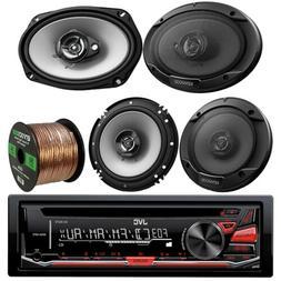 Kenwood Car In Dash CD MP3 AM FM AUX USB Radio Stereo Receiv