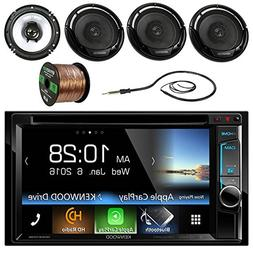 """Kenwood DDX6703S 6.2"""" Double-DIN CD DVD Bluetooth Car Stereo"""
