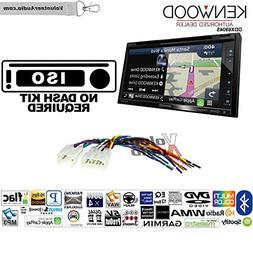 Kenwood Excelon DNX694S Double Din Radio Install Kit with GP