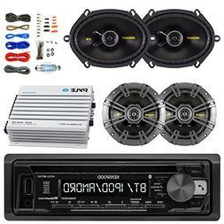 Kenwood KDCBT21 Car Bluetooth Radio USB AUX CD Player Receiv