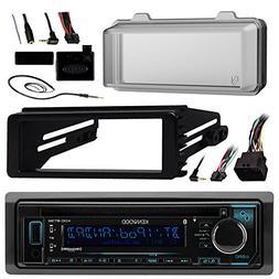 Kenwood Bluetooth Radio USB AUX CD Player Receiver w/ Cover