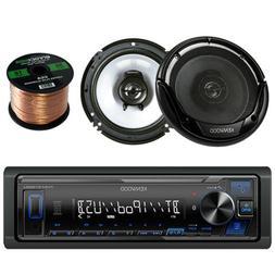 Kenwood Single DIN Bluetooth Digital Media Stereo, Kenwood K