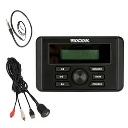 Kicker KMC2 Bluetooth Marine Guage Receiver, USB to AUX Moun