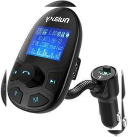 Nulaxy KM22 Bluetooth FM Transmitter Wireless Audio Adapter