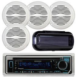 Kenwood KMR-D368BT Marine In-Dash Radio Bluetooth Receiver B