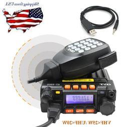 QYT KT-8900 Dual Band VHF UHF Car/Truck Mini Ham Mobile Tran