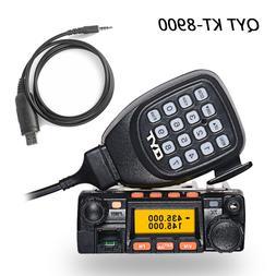 QYT KT-8900 U/VHF Car Truck Mobile Radio 136-174/400-480MHz