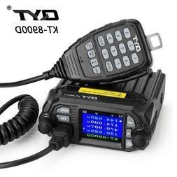 QYT KT-8900D 4 Color Dual Band Quad Standby Mini Car Truck R