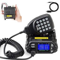 QYT KT-8900D Dual Band Mini Car Ham Radio Mobile Transceiver