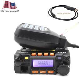 QYT KT8900 Mini Car Radio 25W Dual band 136-174&400-480MHz W