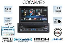 Kenwood KVT-7012BT In Dash Single Din Flip out Monitor with