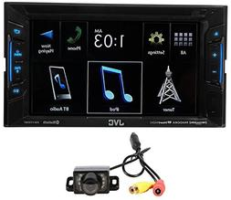 "JVC KW-V130BT 6.2"" 2-Din DVD Player Receiver w/Bluetooth iPh"