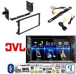 JVC KW-V130BT Double DIN Bluetooth in-Dash DVD/CD/AM/FM Car