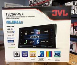 "JVC KW-V620BT 6.8"" Double Din DVD Bluetooth In Dash Car Ster"