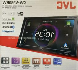 "JVC-KW-V960BW 6.8"" Double Din Receiver+Carplay/Android Auto/"
