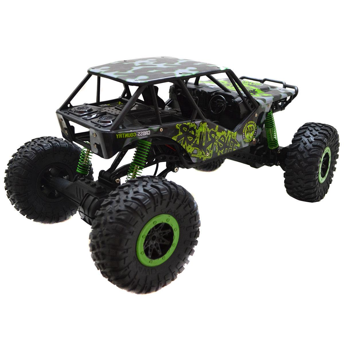 1:10 Rock 4 Wheel Remote Car Green