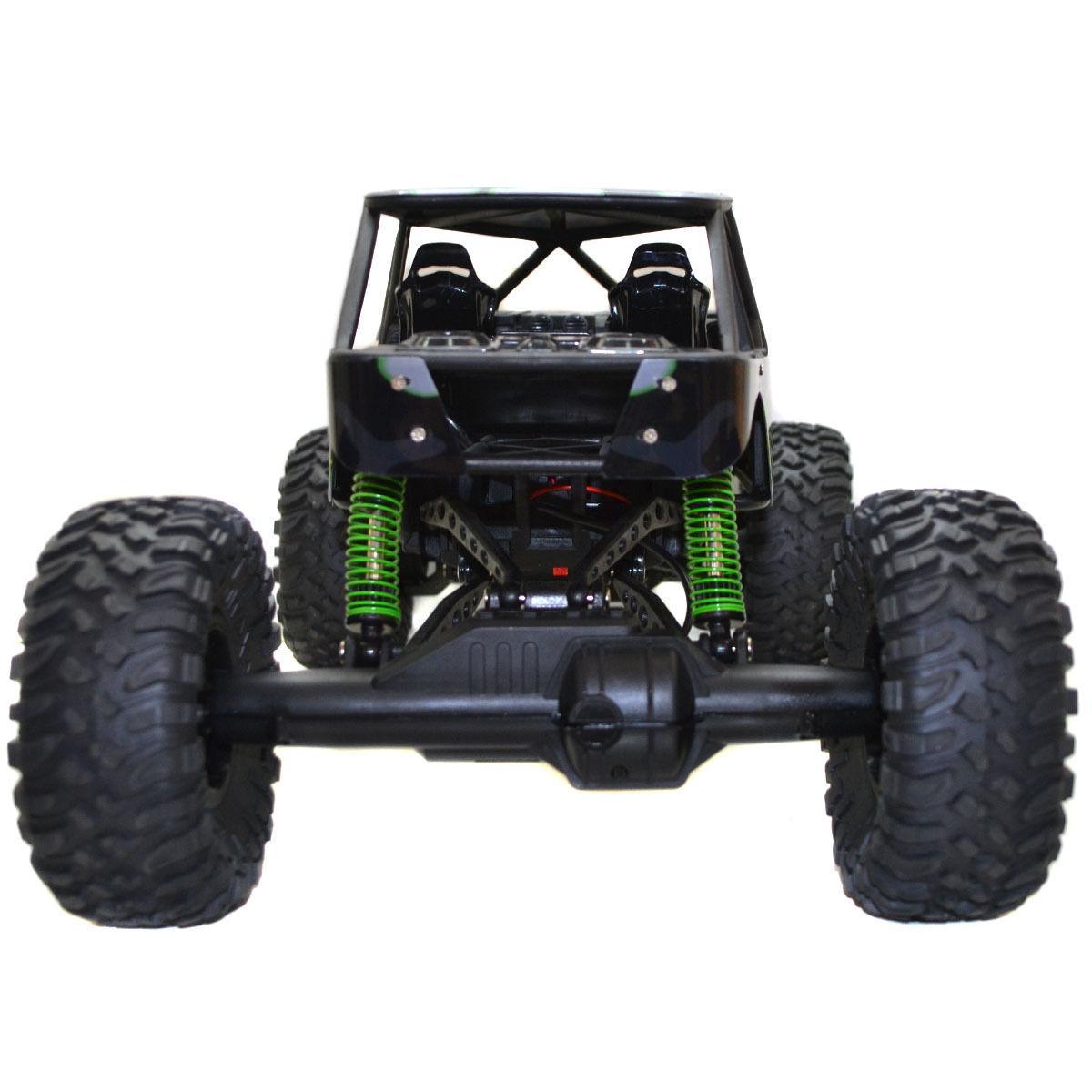 1:10 2.4Ghz Rock 4 Wheel Drive Remote Green