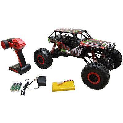 1/10 Scale Wheel Drive Rock Crawler Radio Car