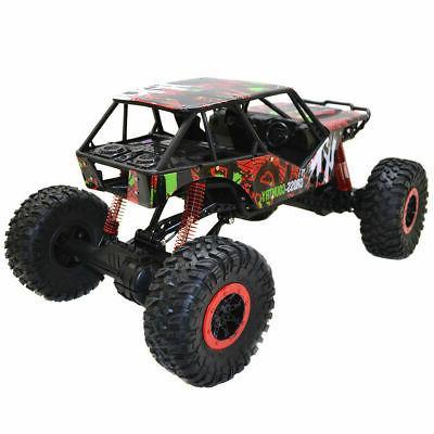 1/10 2.4Ghz 4 Wheel Rock Radio Remote Control Car Toy Red