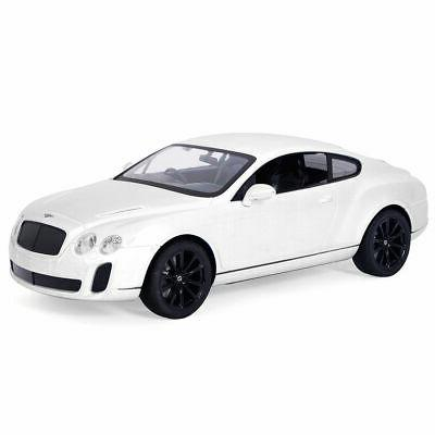 1/14 Bentley Continental GT Supersports Radio Remote RC Car White