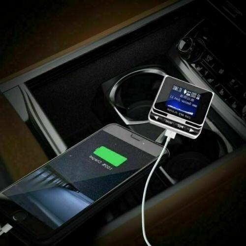 1.4'' FM Transmitter USB