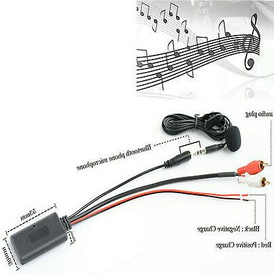 1.5 meters Car Bluetooth Wireless Connection AUX Music+MIC Phone