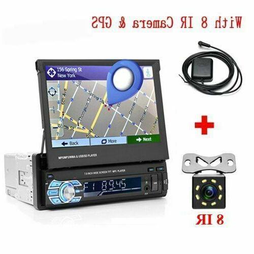 1 Radio GPS Bluetooth Camera Auto Player Stereo Audio FM USB
