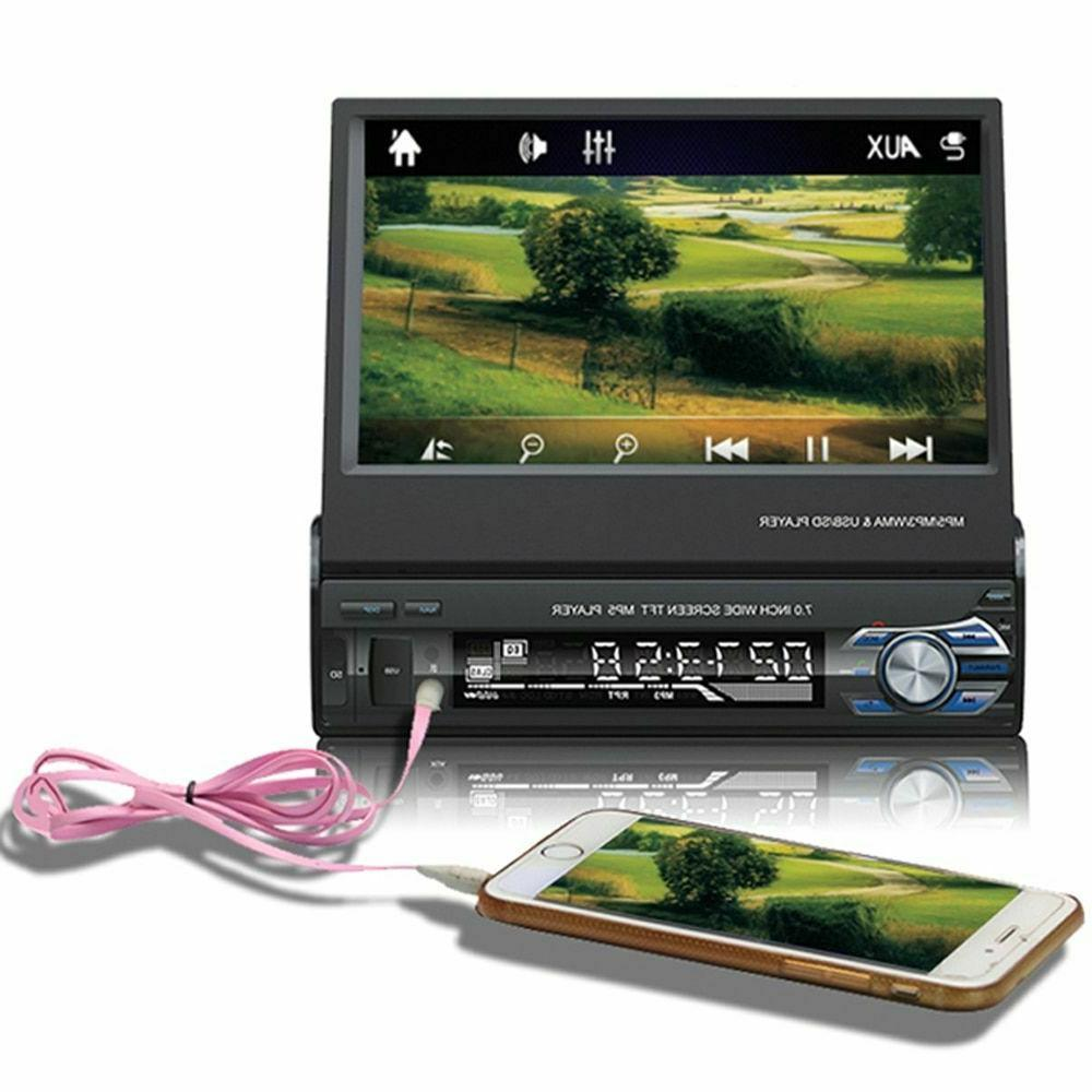 "1 7"" Radio Bluetooth Auto MP5 Audio"