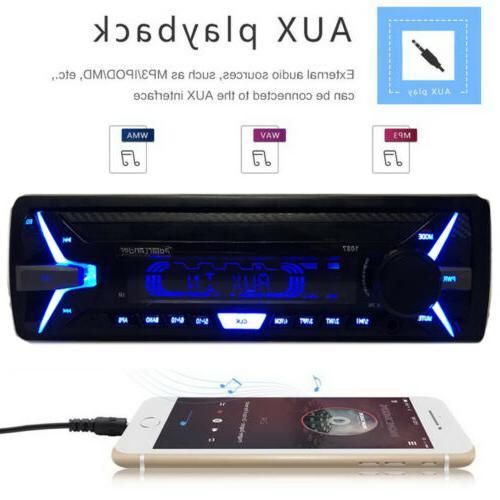 1Din Car RDS FM Player SD USB