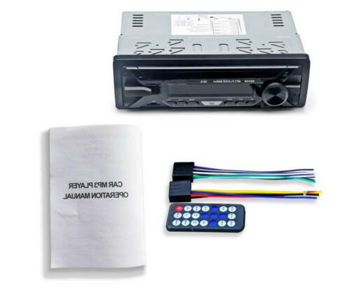 1Din Stereo Radio RDS Player SD
