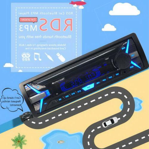 1 Din Radio FM MP3 Bluetooth Panel Head