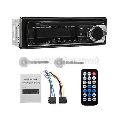 1 Din Stereo Audio MP3 bluetooth FM/SD/TF USB Input In-dash