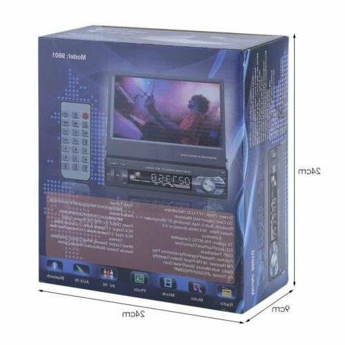 1 DIN HD Touch MP5 Bluetooth Radio MP5 MP3