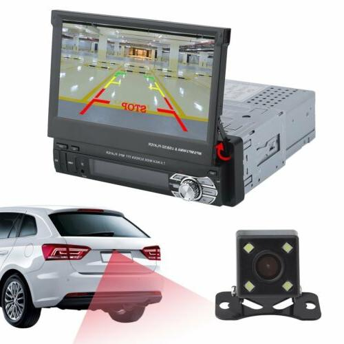 1 Din 7 Car Player Stereo Detachable Music +