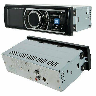 SoundXtreme Car Stereo, Bluetooth, No CD/DVD Player, SD, AUX, AM/FM