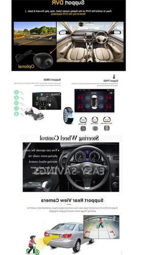 """10.1"""" 16GB 8.1 Quad Car Stereo Radio Player GPS Navigation"""