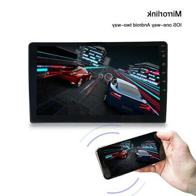 """10.1"""" Quad Core Car Radio MP5 Player WiFi Navigation Android 8.1"""