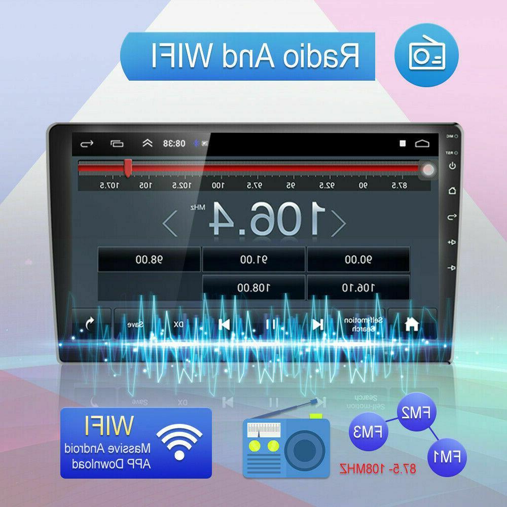 "10.1"" Android 10 Radio Bluetooth MP5 Player 2Din GPS Navi"