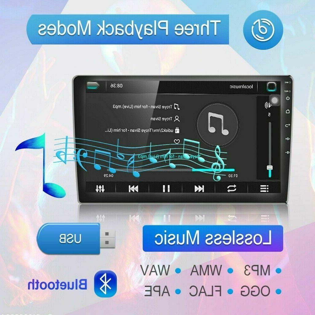 "10.1"" Android Car Radio Stereo Bluetooth Player Quad GPS Navi"