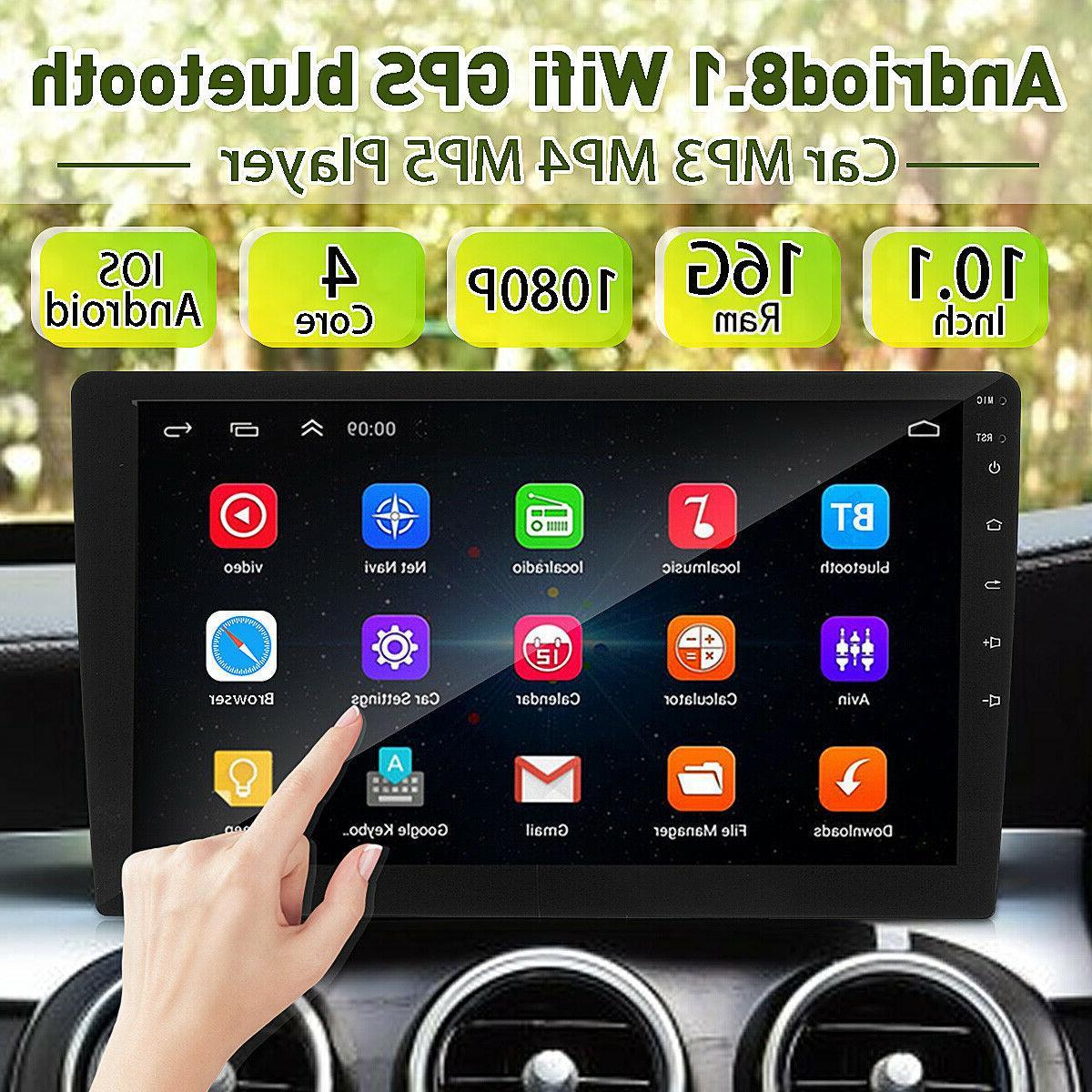 10.1'' 8.1 Stereo Radio Double 2DIN MP5 DVD Wifi