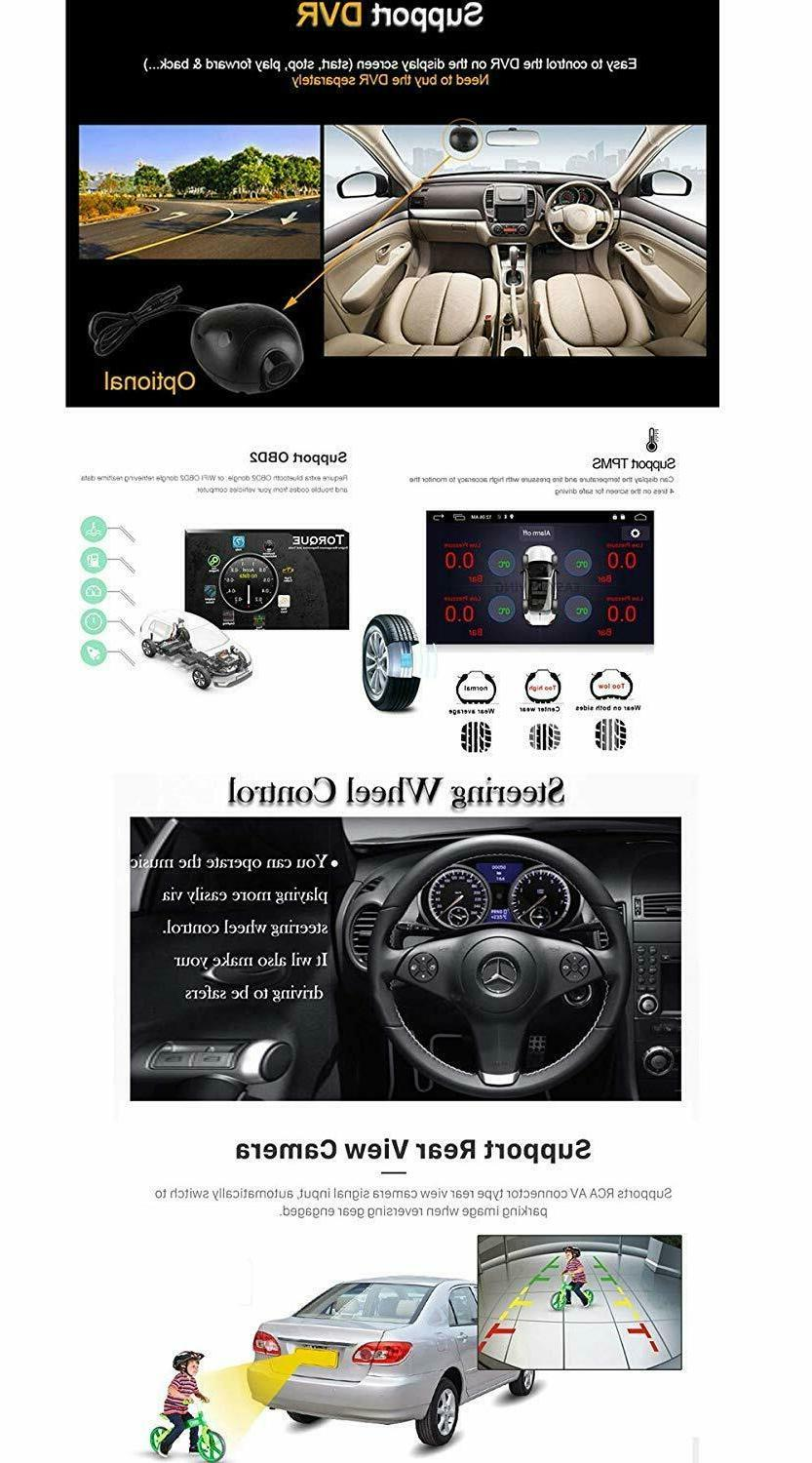 """10.1"""" 8.1 Double 2Din Stereo Radio GPS Wifi Link Player"""